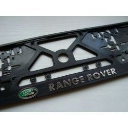 2 Number Plate Frame Holder Surround