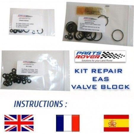 RVH100030 | Kit Repair Valve Block Air Suspension Range Rover P38