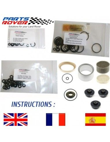 Kit TOTAL Reparacion Suspension Neumatica Range Rover P38 ANR3731 RVH100030