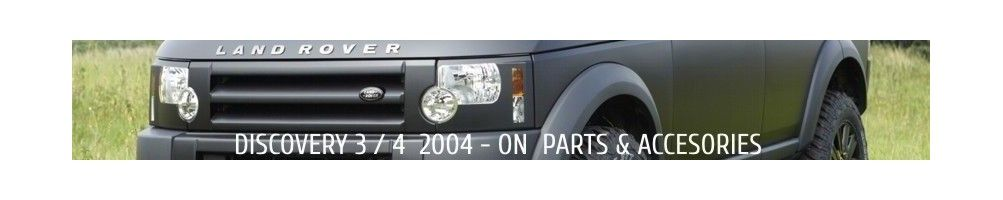 Discovery 3 | 2004 - On | Parts and Accessories